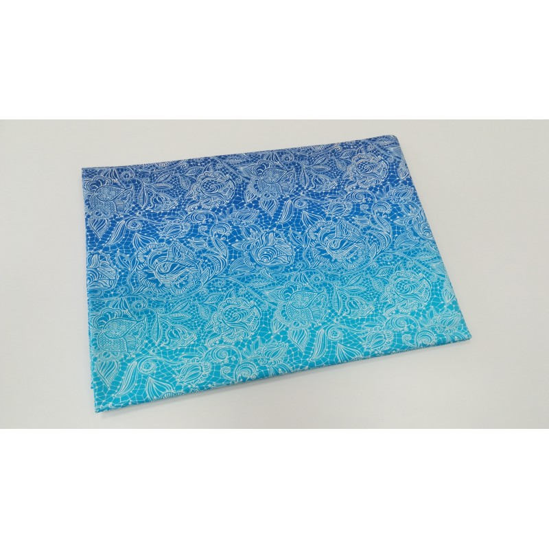 Turkis Lace in gradient - sommersweat