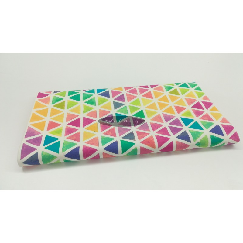 Watercolour triangles - sommersweat