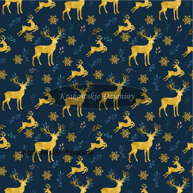 Deer with gold Star - sommersweat
